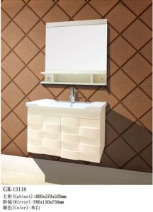 Luxury Wooden Furniture Bath Cabinet (13118) pictures & photos