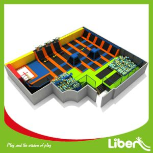 Adults Trampoline Park Indoor with Dodgeball pictures & photos