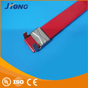 L Type PVC Coated Stainless Steel Cable Ties 316 pictures & photos