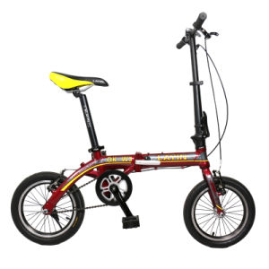 14 Inch Single Speed Mini Bike Aluminum Alloy Folding Bicycle pictures & photos