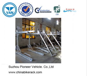 Double Decker Two Tier Cycle Stands pictures & photos