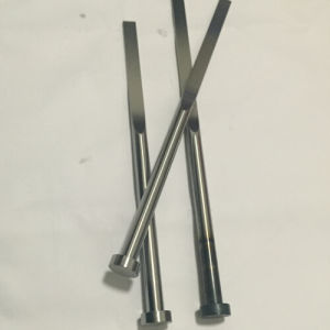 Nitrided & Blackened Precision DIN1530f-B Was1.2344  Blade Ejector Pin of Mould Parts for Plastic Injection pictures & photos