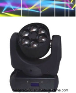 Mini 6*15W CREE RGBW in 1 LED Bee Eye Beam Moving Head pictures & photos
