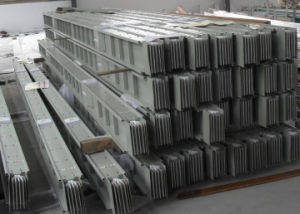 Low Voltage Insulated Sandwich Epoxy Aluminum Busbar pictures & photos