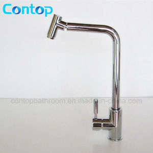 Kitchen Ware Brass Swivel Kitchen Faucet pictures & photos