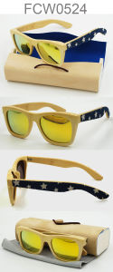 Handmade Simple Brand Wooden Sunglasses (with Ce, FDA) pictures & photos