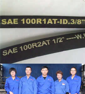 (SAE100R1AT 1SN) Oil Fluid Rubber Agricultural Pipe