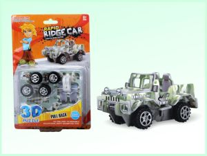 DIY 3D Puzzle Pull Back Cars for Promotion Toys (H4551409) pictures & photos