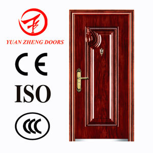 China Manufacturer Steel Security Door Hot Sale in Egypt pictures & photos