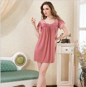 812 Short Sleeve Good Nylon Baby Doll