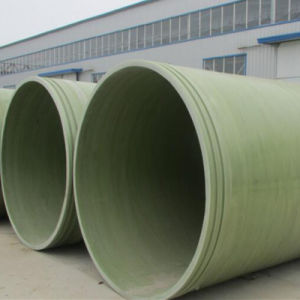 Large Diameter Anti-Corrosion Glass Fiber Reinforced Plastic Pipe pictures & photos