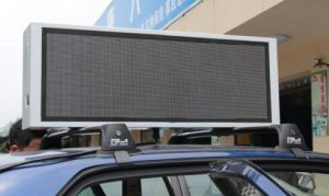 P5 Full Color Duble Sided Taxi Top LED Display pictures & photos