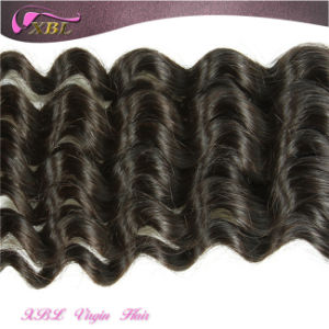 No Chemical Deep Wave Raw Indian Wholesale Human Hair Extensions pictures & photos