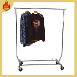 Store Outdoor Garment Display Rack for Clothes pictures & photos