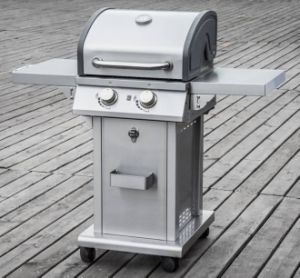 CSA Approved 2 Burner Outdoor Gas Barbecue Grill for Sale pictures & photos