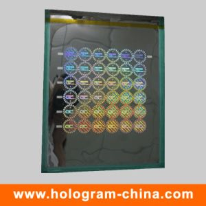 DOT Matrix Security 3D Laser Hologram Master pictures & photos