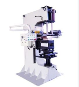 Golden Hot Foil Printing Machine for Waste Bin pictures & photos