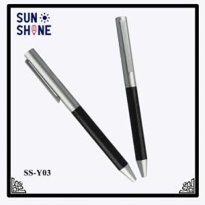 New design Twist Gift Pen Carbon Fiber Metal Ball Pen pictures & photos