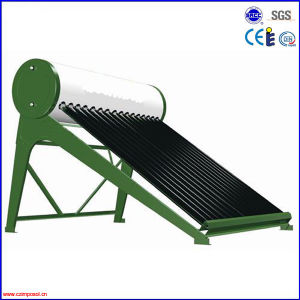 Greenhouse on Rooftop Non-Pressurized Solar Energy Water Heater pictures & photos
