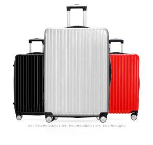 Fashion ABS 3 Piece Luggage Set Suitcase Spinner Hardshell pictures & photos