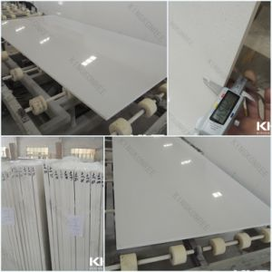 2cm Pure White Caesar Stone Quartz Slabs (KKR-QF001) pictures & photos