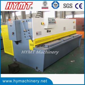 QC12Y-6X3200 Hydraulic swing beam shearing cutting machinery pictures & photos