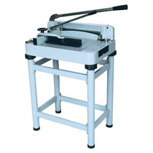 Paper Trimmer Guillotine Manual Paper Cutter with Stander (WD-868A3) pictures & photos
