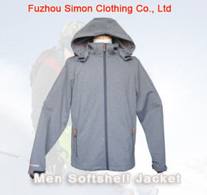 Winter Men Leisure Softshell Jacket (SM-ASF1528) pictures & photos