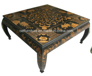 America Europe Style Hand Painted Villa Furniture Coffee Table