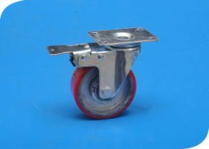 Caster with Brake 4 Inch Heavy Duty Caster pictures & photos