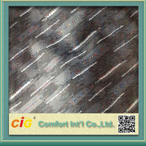 100% Polyester Knitting Jacquard Fabric pictures & photos