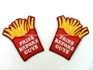 Custom Emblem Embroidery Applique Embroidered Patches pictures & photos