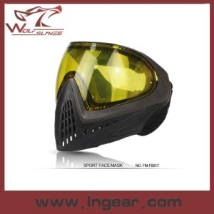 Paintball Anti-Fog Face Mask Outdoor Sport Full Face Mask pictures & photos