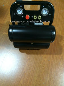 Tat-2516tn Ultra Quiet and Oil-Free 1.0 HP 4.6gallon Twin Tank Air Compressor pictures & photos