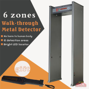 Factory Price 6 Zones Archway Metal Detector Door for Satation pictures & photos