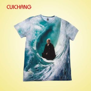 Fashion Design Printed Men T-Shirt with Custom Design, Full Sublimation Tee Shirt pictures & photos