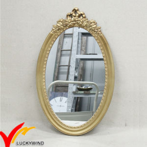 Antique Decorative Oval Wooden Wall Mirror pictures & photos
