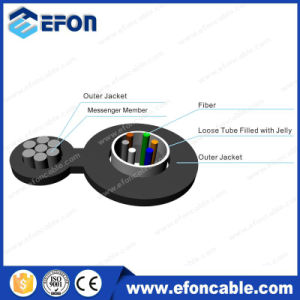 Aerial Figure 8 Self-Supporting 4/6/8/12/24core Fiber Optical Cable (GYXTC8Y) pictures & photos