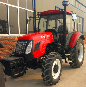 100HP 110HP 4WD Farm Tractor with AC Cabin pictures & photos