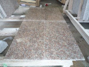 Polished Peach Red Granite G687 Tiles pictures & photos
