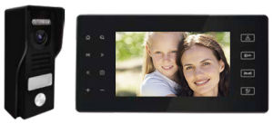 "New Design 7"" TFT Screen SD Card Menory Video Intercom System pictures & photos"