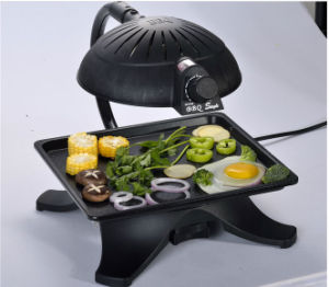 Indoor Smokeless Electric BBQ Grill Barbecue BBQ Grill (ZJLY) pictures & photos