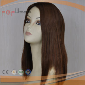 Brown Color New Design Shevy Work Human Hair Wig pictures & photos