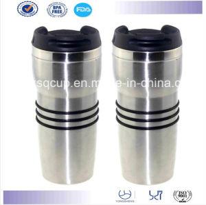 Stainless Steel Insulated Travel Coffee Mug, 16 Oz
