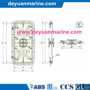 Marine Steel Watertight Pressure Door pictures & photos