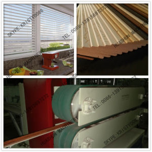 Plastic Window Shades Blind Making Machinery pictures & photos