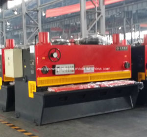 Guillotine Type Hydraulic Metal Shearing Cutting Machine pictures & photos