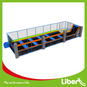 Indoor Trampoline Park with Basketball Hoop pictures & photos