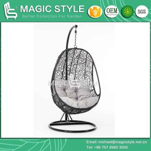 Balcony Chair Swing Chair Swinging Wicker Hammock Hanging Chair Outdoor Chair (Magic Style) pictures & photos