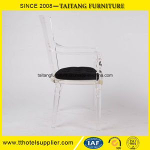 Luxury Wedding Event Aarm Clear Plastic Chair Sell pictures & photos
